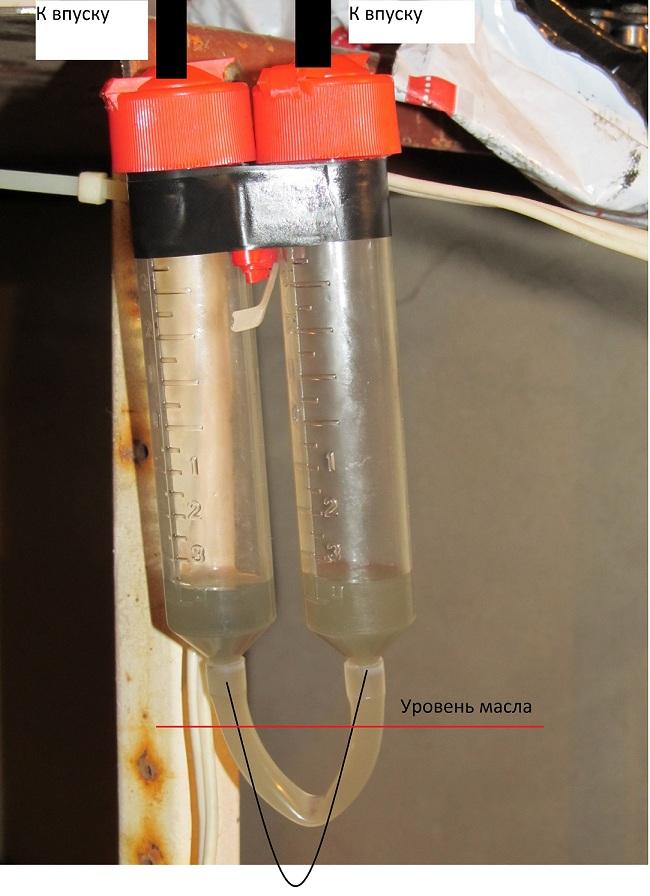 Синхронизатор из шприцов